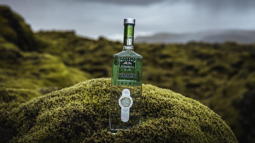 Martin Miller's Summerful Gin mit isländischen Quellwasser